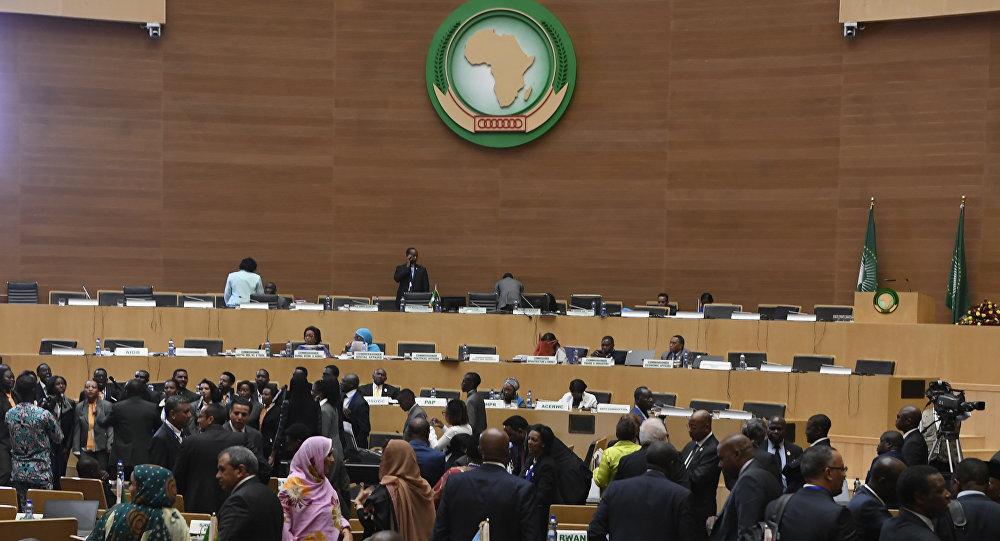 L` Assemblée des chefs d'État et de gouvernement de l'Union africaine, à Addis-Abeba