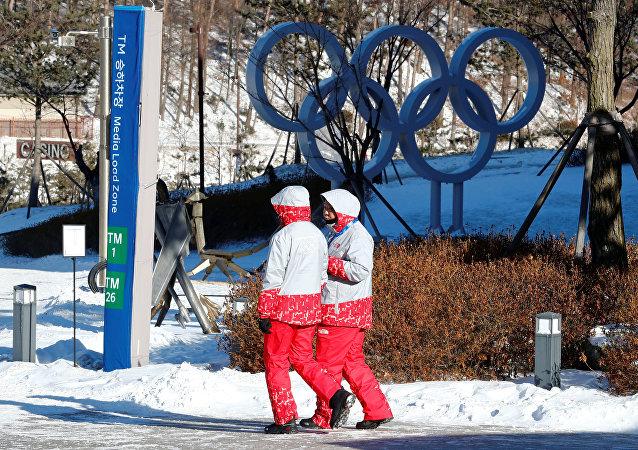 Et on sourit! Des athlètes des deux Corées se prennent en selfie aux JO / image d'illustration