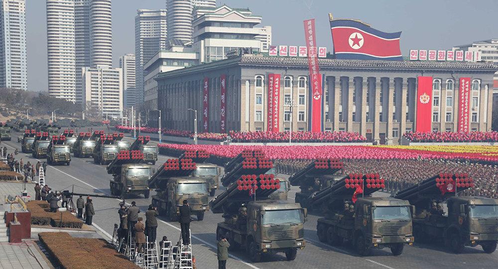 Un mystérieux missile repéré lors du défilé militaire en Corée du Nord / image d'illustration