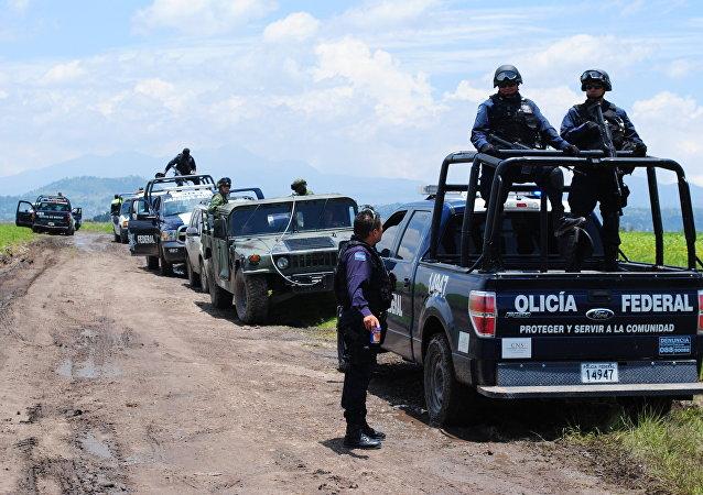 Police au Mexique