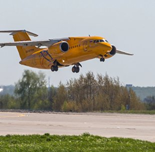 Un An-148 de Saratov Airlines