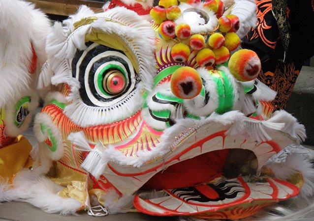 Nouvel An en Chine (image de démonstration)