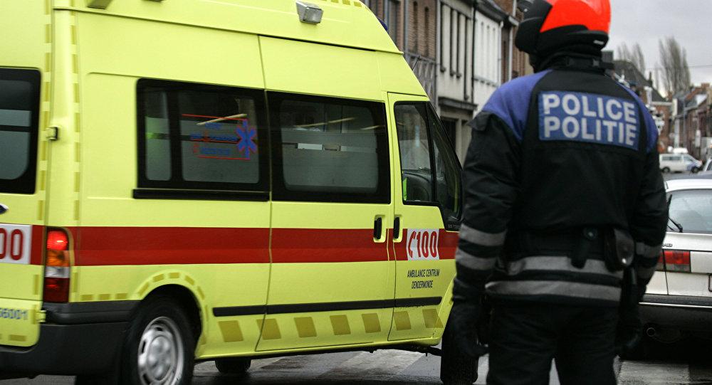 Ambulance. Photo d'archive