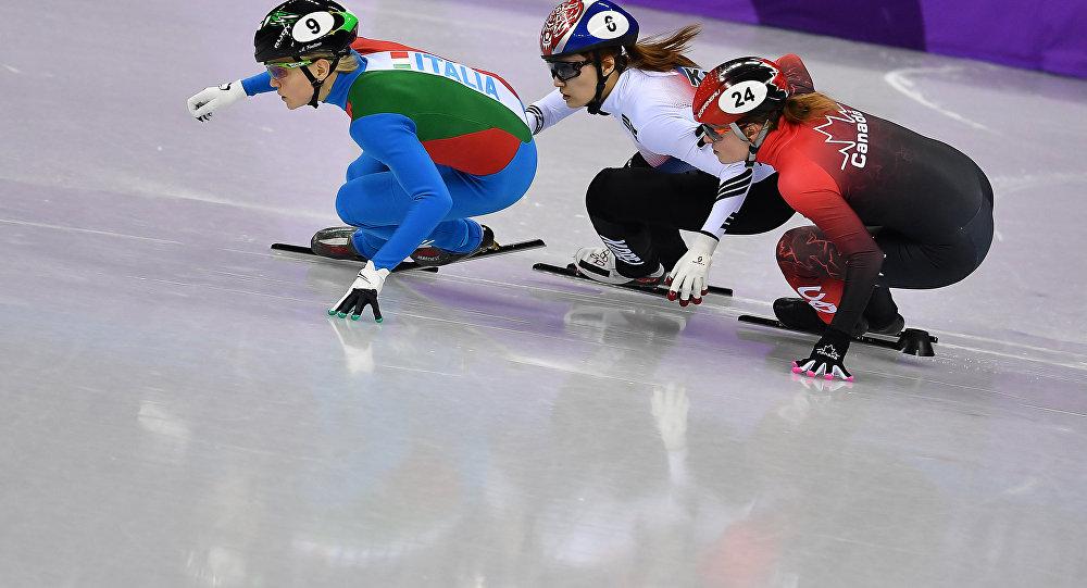 Médaille de bronze pour Kim Boutin — Courte piste