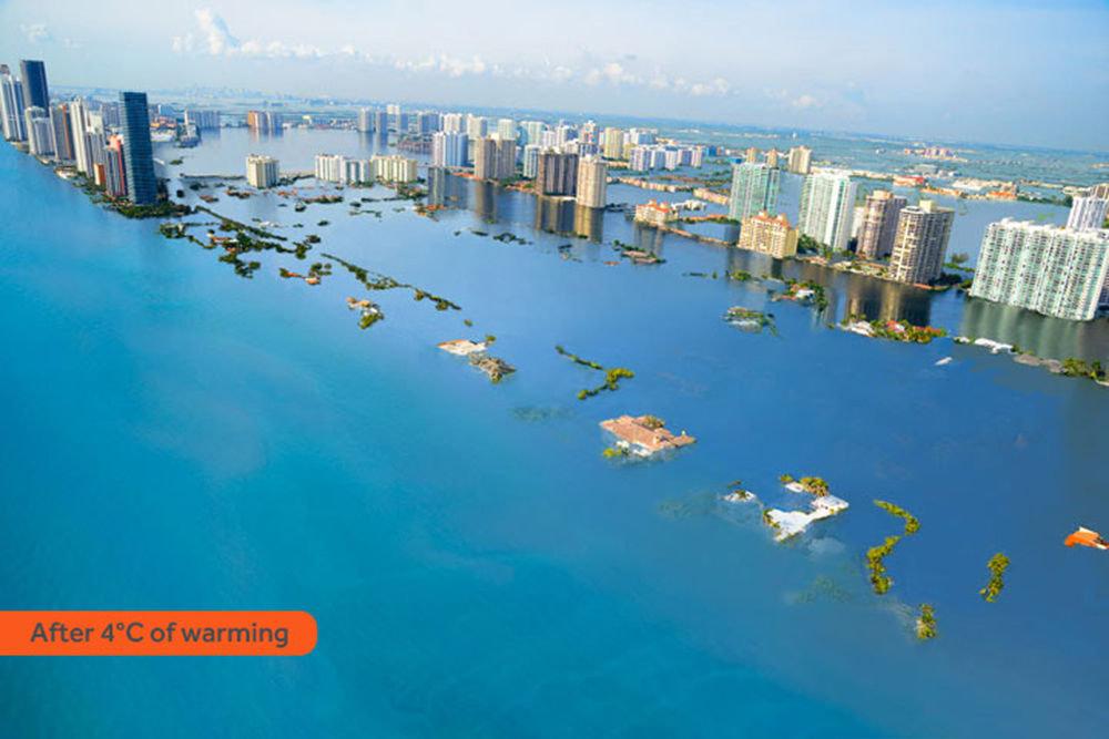 Miami Beach sous les eaux
