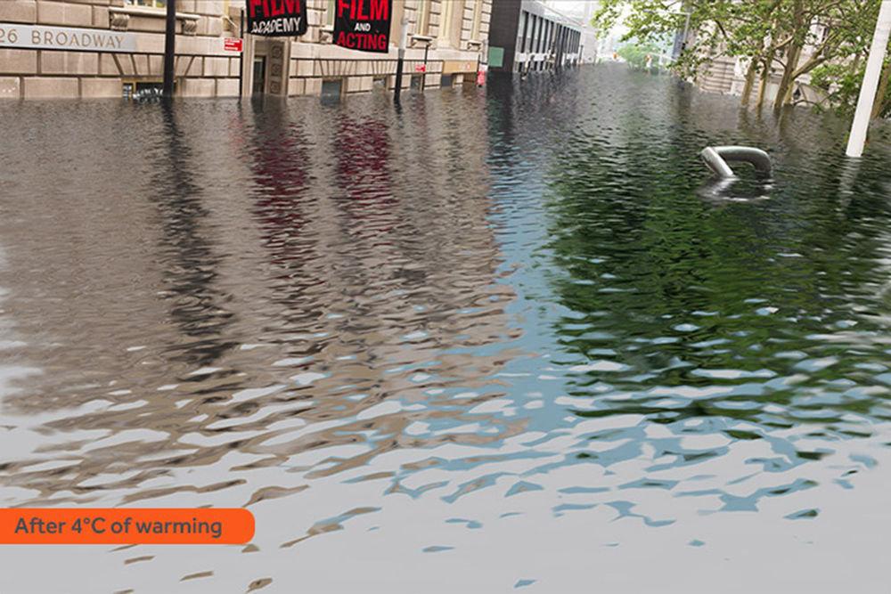 New York sous les eaux