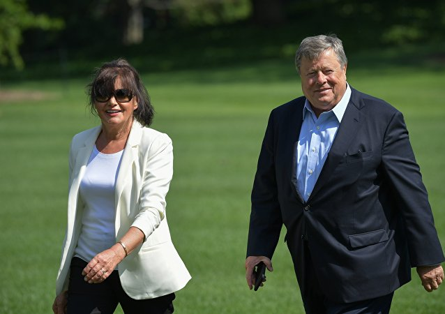 Viktor and Amalia Knavs, parents de la First Lady Melania Trump