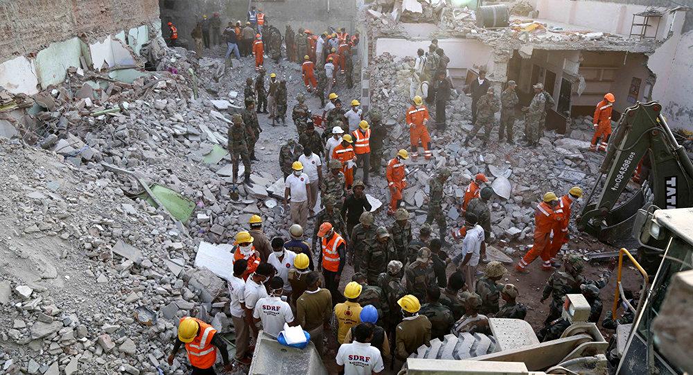 explosion de gaz dans un hôtel à Beawer, dans l'État du Rajasthan en Inde