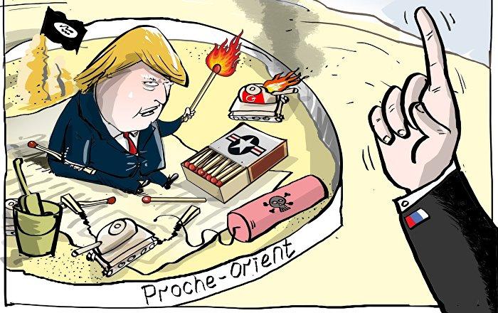 Les États-Unis utilisent les Kurdes syriens pour détruire l'intégrité territoriale de la Syrie