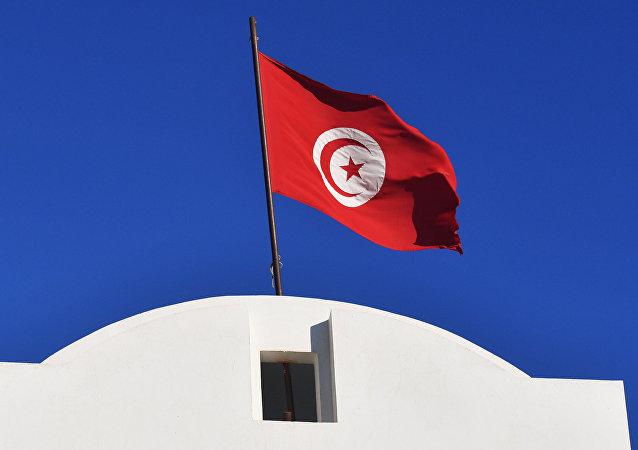 Флаг Туниса.