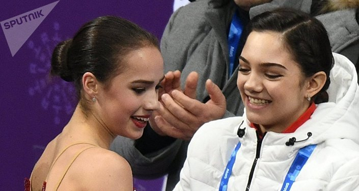 Alina Zagitova et Yevgenia Medvedeva