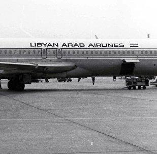 Libyan Arab Airlines Boeing 727-224