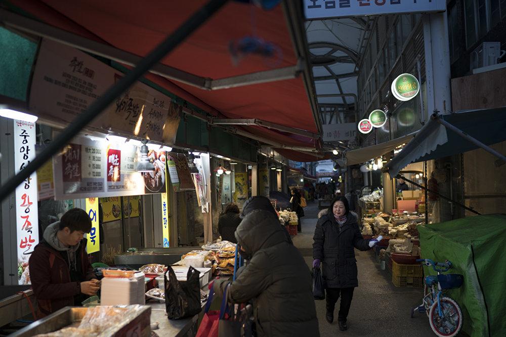 Des plats exotiques à Gangneung