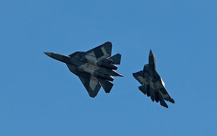 Les chasseurs Su-57. Photo d'archive