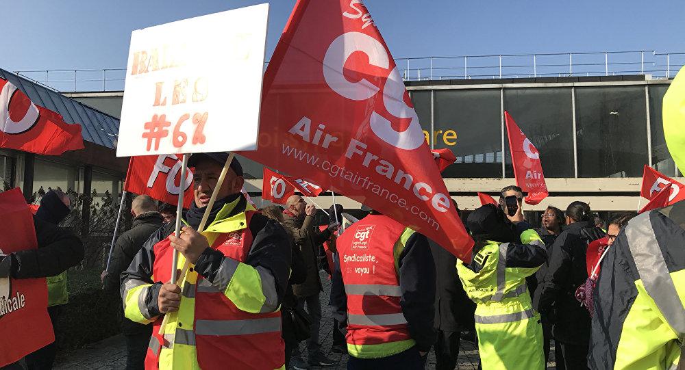 Grève à Air France: des employés dénoncent les «salaires low cost»