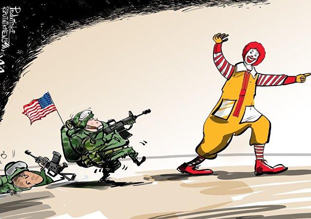 Quand l'obésité pourrait couper court aux ambitions militaires de Trump