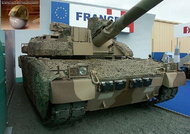 Le char Leclerc. Photo d'archive