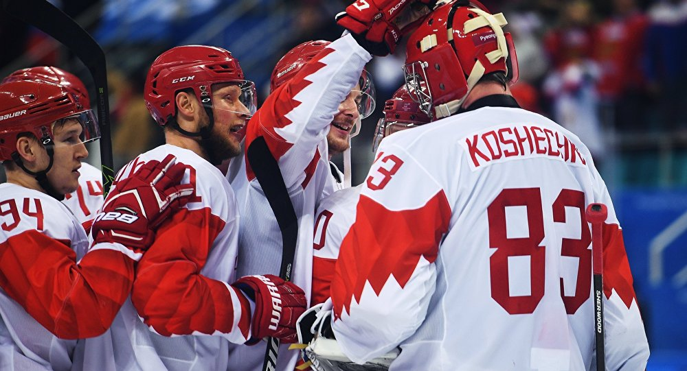 Première finale pour la Russie en 20 ans — Hockey