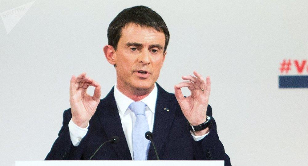 Manuel Valls. Photo d'archive