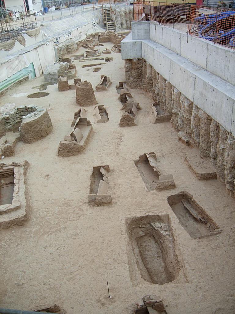 Le cimetière romain