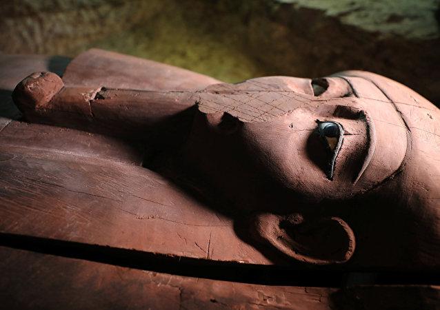 Un sarcophage découvert dans la province de Minya