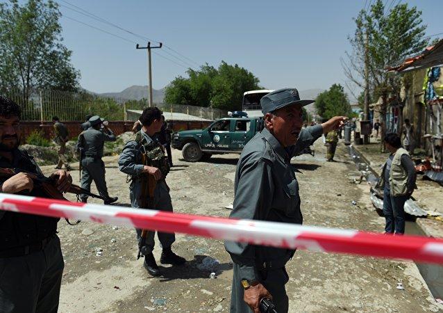La police en Afghanistan