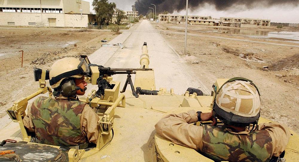 Intervention en Irak, image d'archives