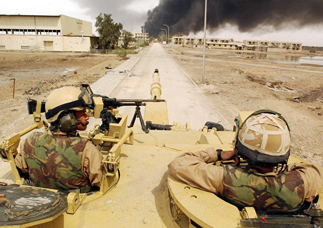 Intervention en Irak, image d'archives