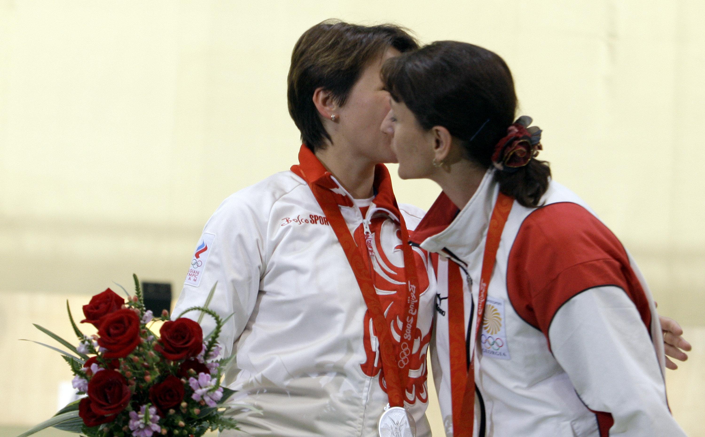 Natalia Paderina et Nino Salukvadze