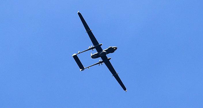 Un drone militaire indien