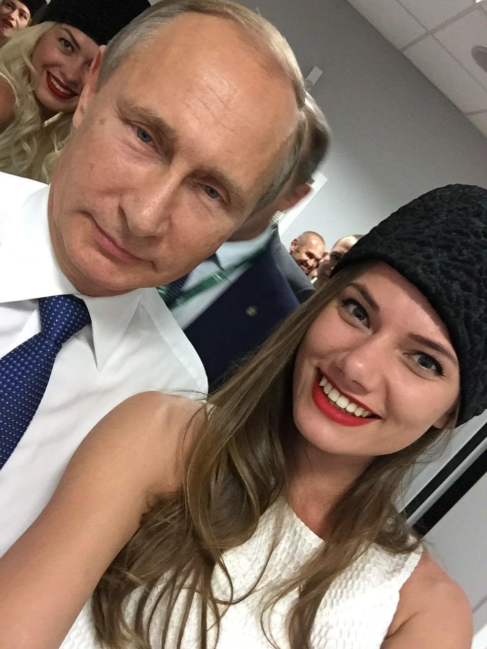 Violetta Igochina et Vladimir Poutine