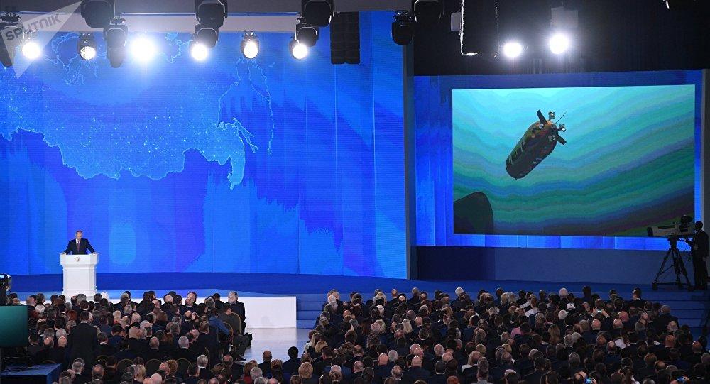 """Résultat de recherche d'images pour """"Russie a créé des drones sous-marins super-rapides et invulnérables, 2018"""""""