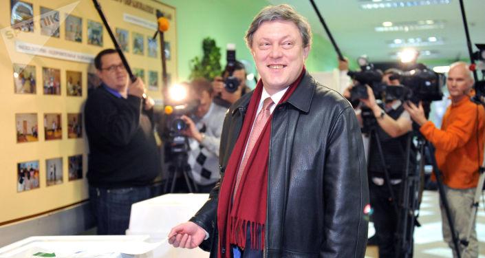 Candidat à la présidentielle 2018 en Russie: Grigori Iavlinski
