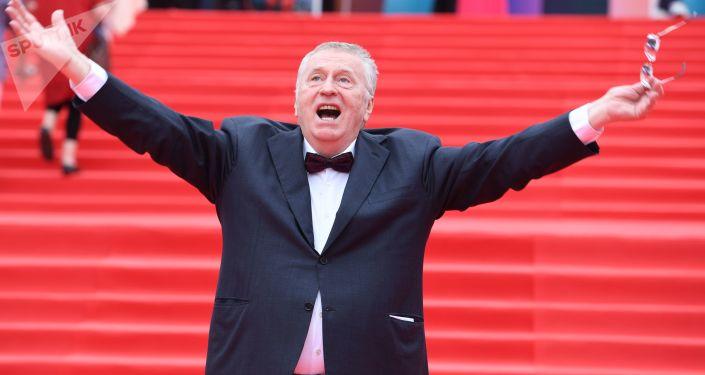 Candidat à la présidentielle 2018 en Russie: Vladimir Jirinovski