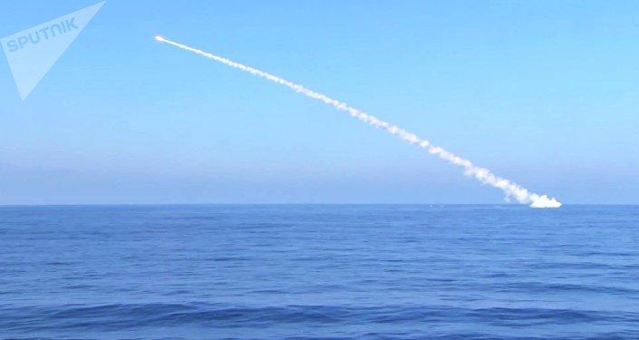 Tir d'un missile Kalibr, archives