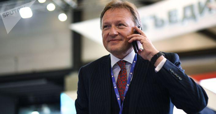 Candidat à la présidentielle 2018 en Russie: Boris Titov