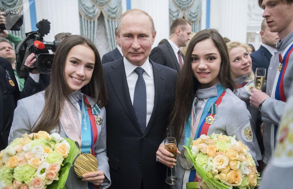 Candidat à la présidentielle 2018 en Russie: Vladimir Poutine