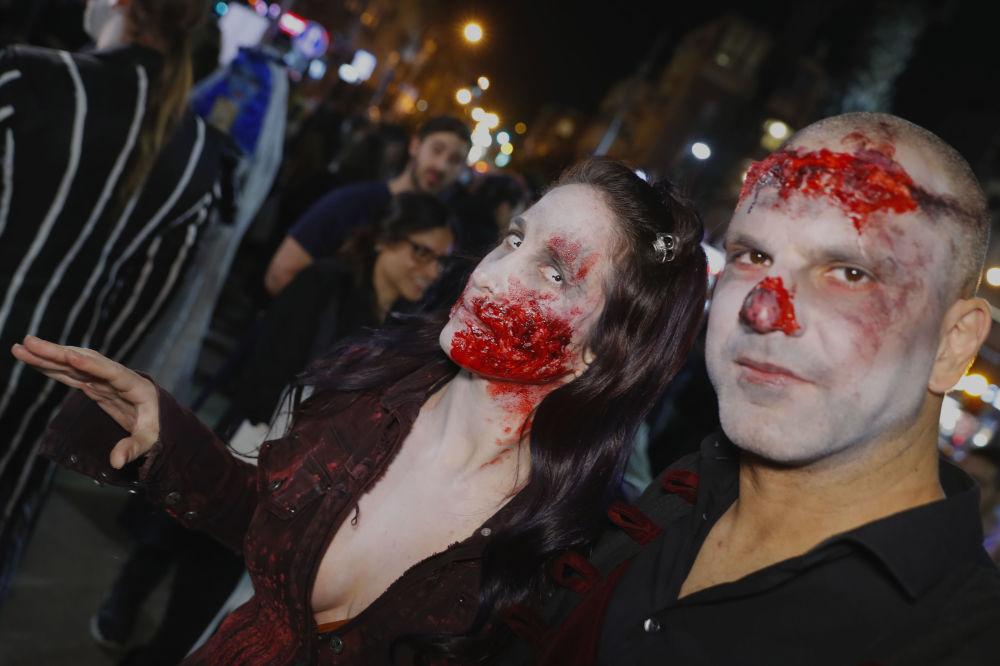 «Marche des zombies» à Tel Aviv