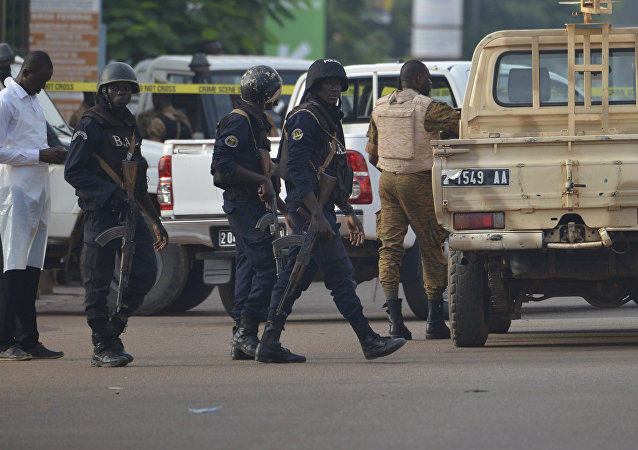 Forces de sécurité à Ouagadougou, Burkina Faso (photo d'archive)
