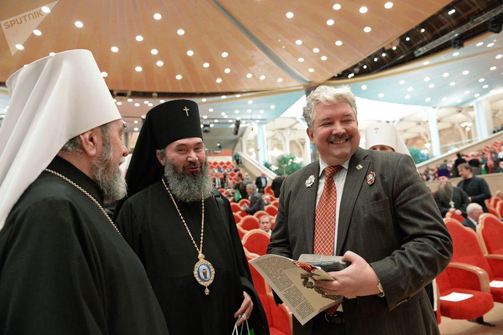 Сandidat à la présidentielle 2018 de Russie: Sergueï Babourine