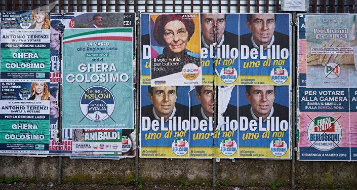 Élections en Italie
