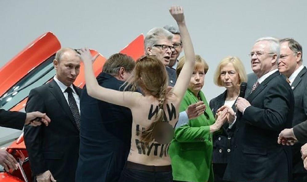 FEMEN contre Poutine