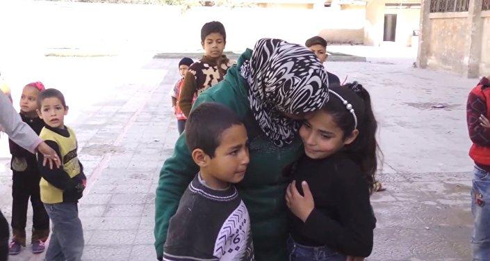 Une fillette syrienne raconte sa fuite sous les tirs des radicaux de la Ghouta orientale