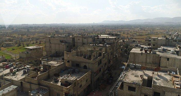 Un couloir humanitaire entre la Ghouta orientale et Damas
