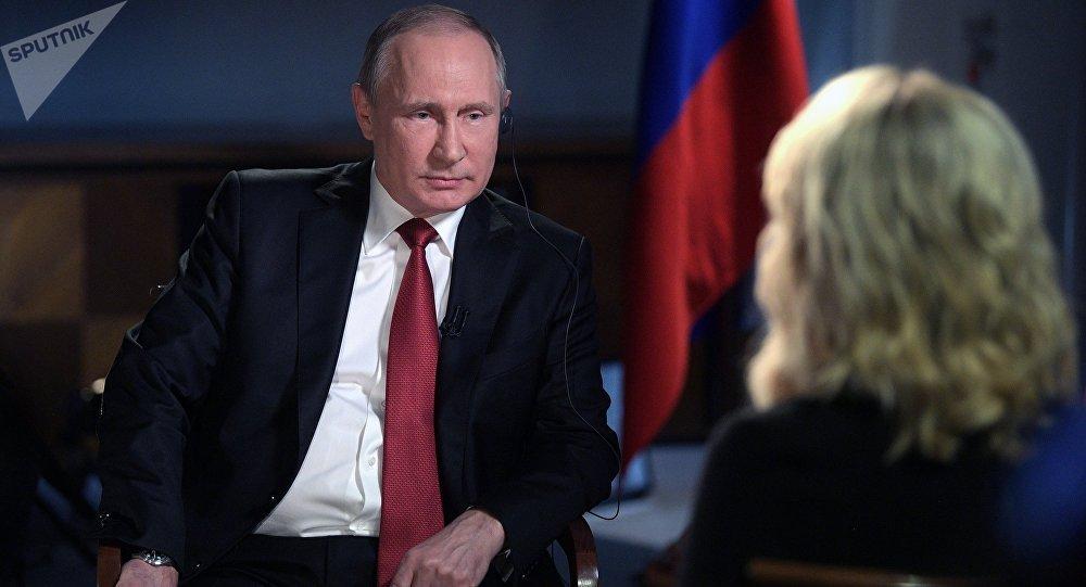 Vladimir Poutine accorde une interview à NBC (archives)