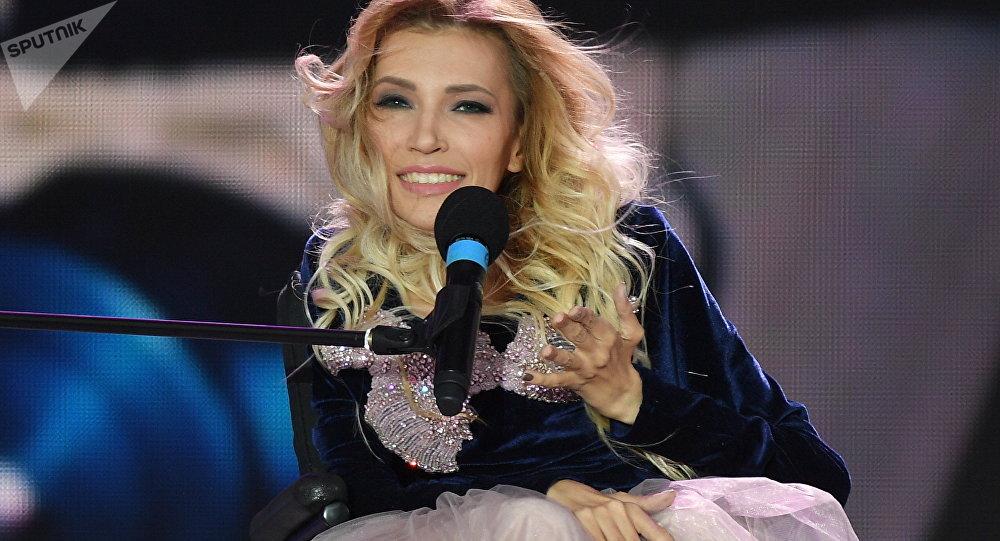 La chanteuse Ioulia Samoïlova