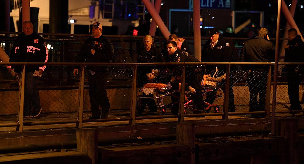 Un hélicoptère s'est écrasé dans le détroit de l'East River