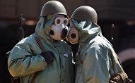 Des armes chimiques (image d'illustration)