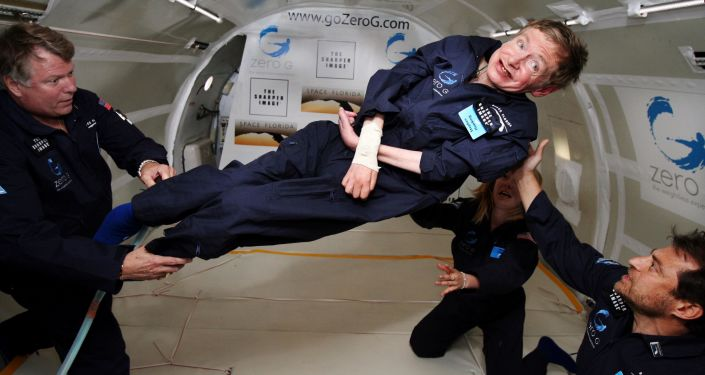 Le grand physicien Stephen Hawking