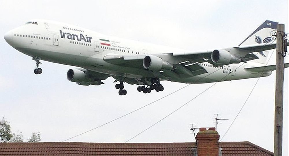 Un avion de l'Iran Air